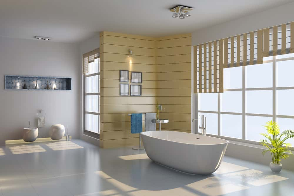 bathroom curtain ideas