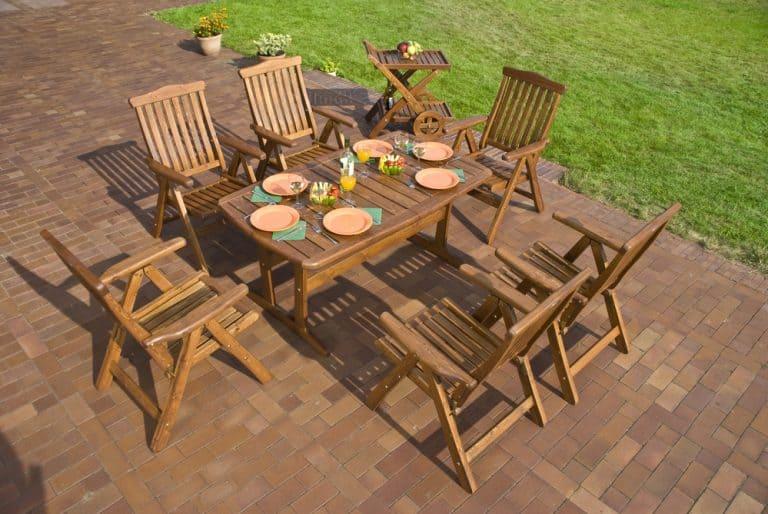 best teak patio sets