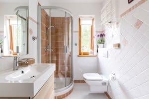 types of bathroom showers