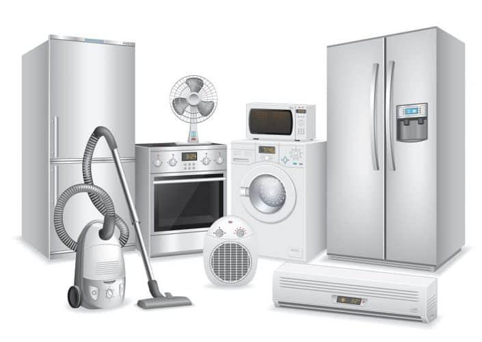 types of appliances